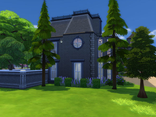 Sims 4 Hallow Manor by Ineliz at TSR