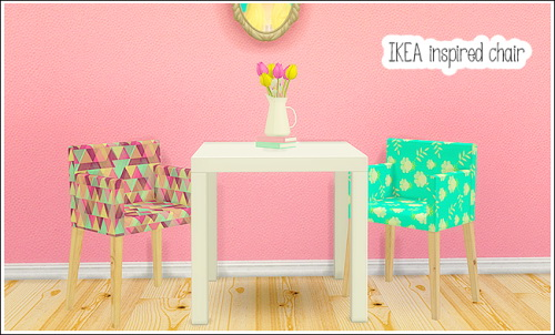 Ohbehave S Ikea Inspired Chair At Lina Cherie 187 Sims 4 Updates