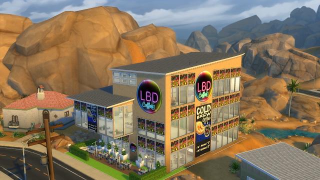 LBD caffe at La Boutique de Jean image 2428 Sims 4 Updates