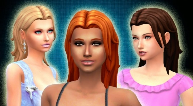 Sims 4 Convenient Hair at My Stuff