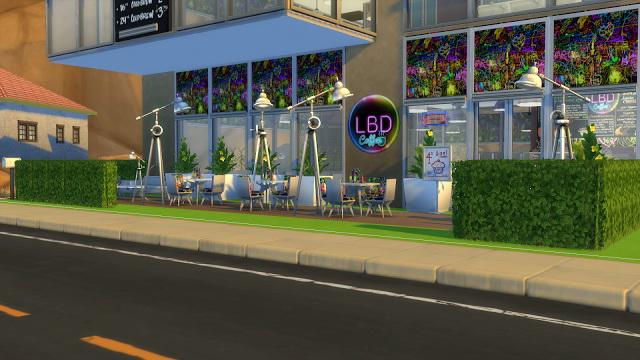 LBD caffe at La Boutique de Jean image 2442 Sims 4 Updates