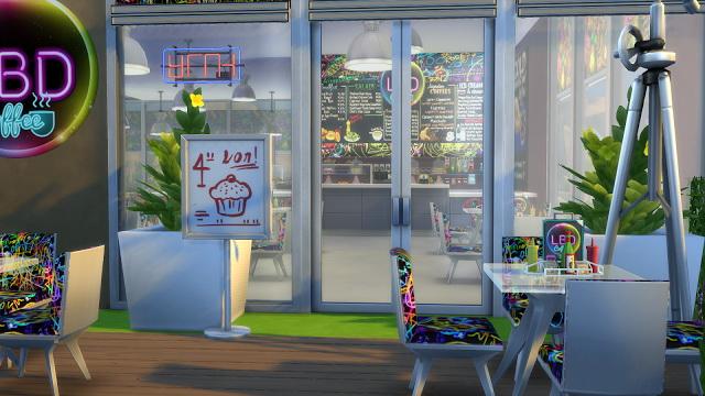 LBD caffe at La Boutique de Jean image 2452 Sims 4 Updates