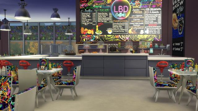 LBD caffe at La Boutique de Jean image 2461 Sims 4 Updates