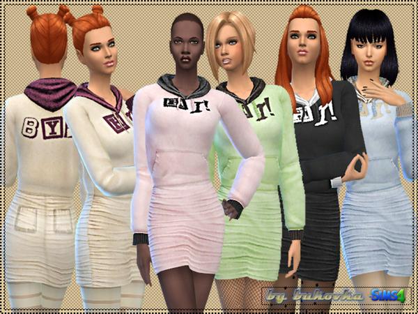 Sims 4 Hi Bye set by bukovka at TSR
