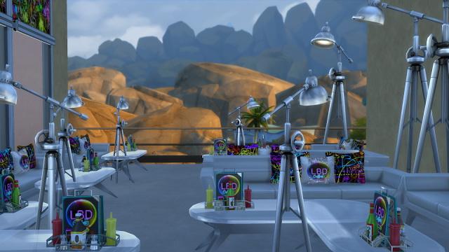 LBD caffe at La Boutique de Jean image 2501 Sims 4 Updates