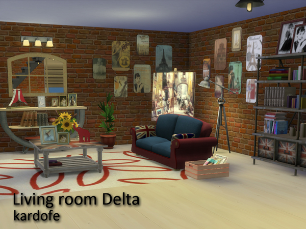 Delta livingroom by Kardofe at TSR image 2512 Sims 4 Updates