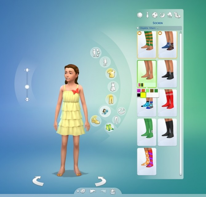 Sims 4 Children Nail Polish by iuser at Mod The Sims