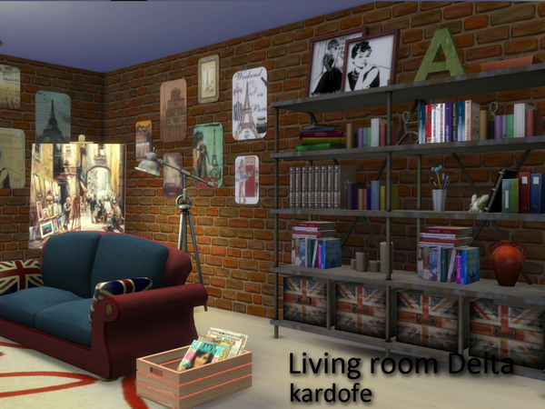 Delta livingroom by Kardofe at TSR image 2612 Sims 4 Updates