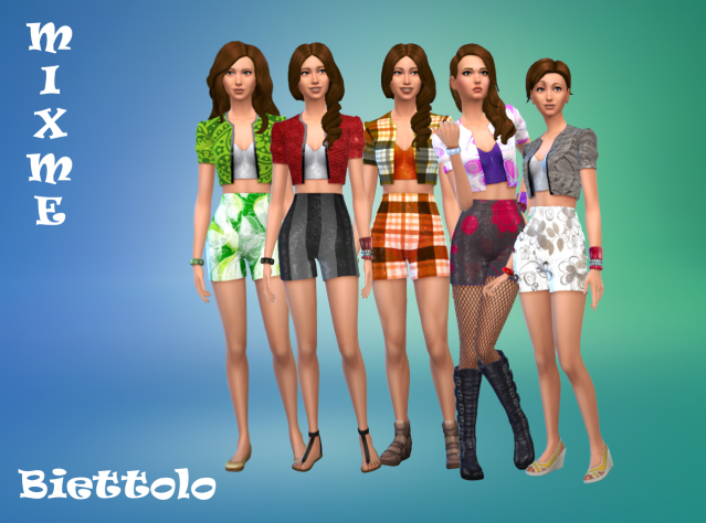 MixMe outfits by Biettolo at The Sims Lover image 2617 Sims 4 Updates