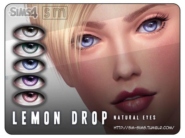 Lemon Drop Natural Eyes by Screaming Mustard at TSR image 2624 Sims 4 Updates