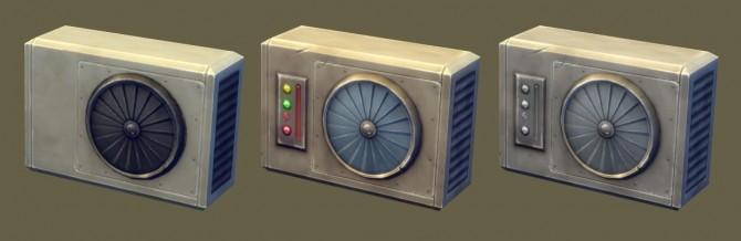 Sims 4 Vents (wall air conditioners) at Jool's Simming