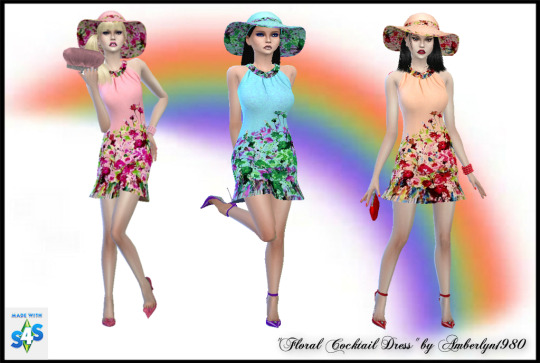 Romantic Floral Collection at Amberlyn Designs image 271 Sims 4 Updates