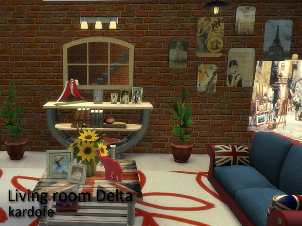 Delta livingroom by Kardofe at TSR image 2710 Sims 4 Updates