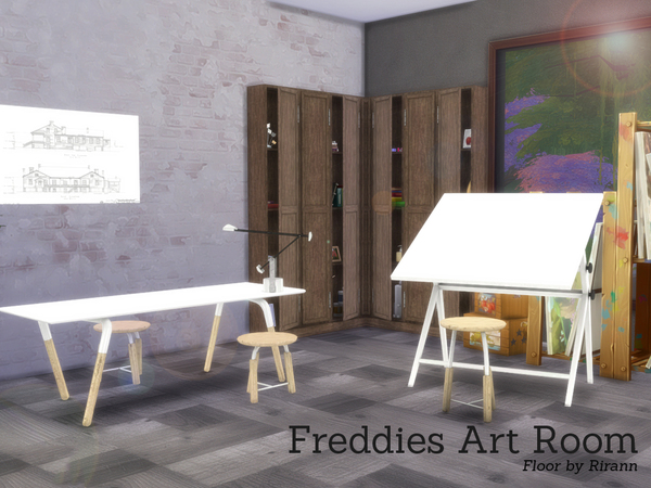 Freddies Art Room by Angela at TSR image 2714 Sims 4 Updates