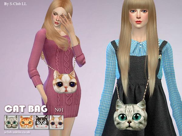 Bag N01 by S Club LL at TSR image 280 Sims 4 Updates