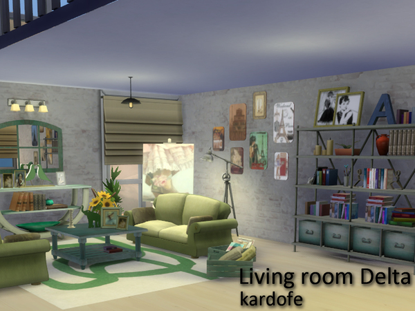 Delta livingroom by Kardofe at TSR image 288 Sims 4 Updates