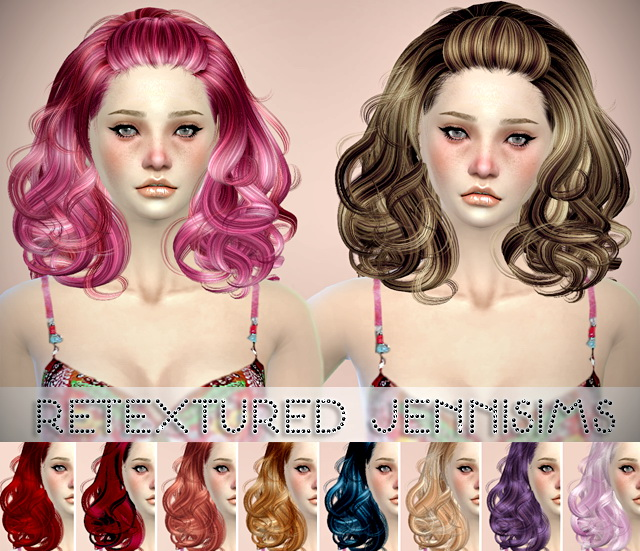 Sims 4 Newsea Infinity and Butterflysims 122 Hair retextures at Jenni Sims
