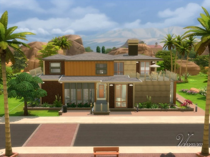 Sims 4 EnterPrice House by Volvenom at Mod The Sims