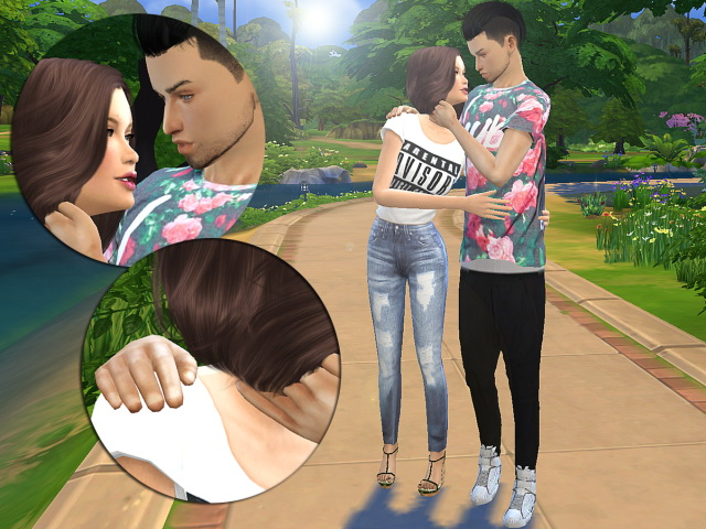 Sims 4 Couple poses 02 by Siciliaforever at Sims Fans