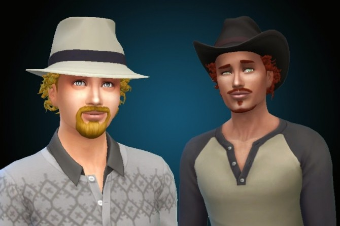 Sims 4 Close Curls by Kiara at My Stuff