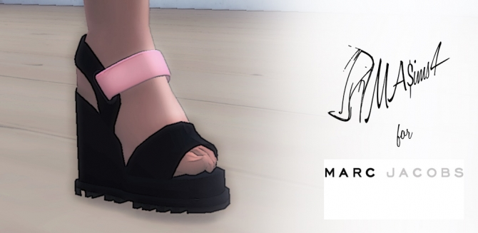 Platform Sandals By Mrantonieddu At Ma Ims3 187 Sims 4 Updates