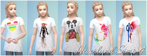 Shirts for kids at Neverland Sims4 image 3108 Sims 4 Updates