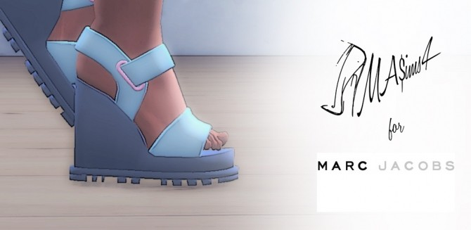 Platform Sandals by MrAntonieddu at MA$ims3 image 3112 670x327 Sims 4 Updates