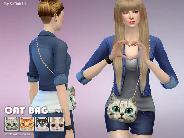 Bag N01 by S Club LL at TSR image 326 Sims 4 Updates