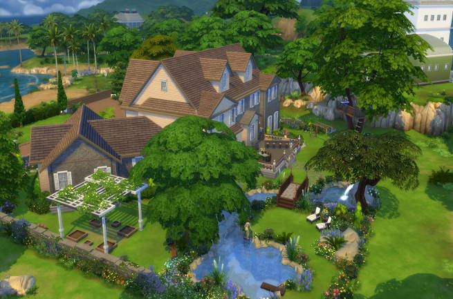 Family Villa by SimsAtelier at Blacky's Sims Zoo image 3319 Sims 4 Updates