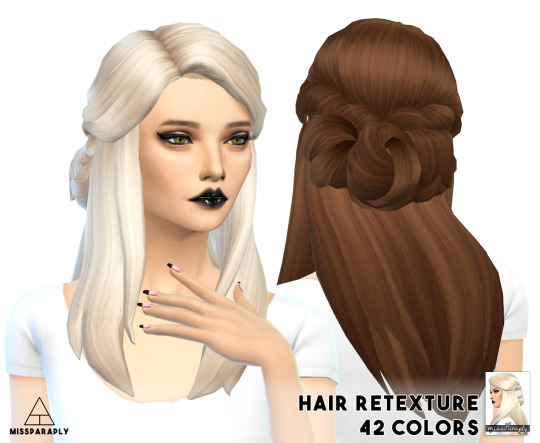 LumiaLoverSims Sawyer Hair retexture at Miss Paraply image 342 Sims 4 Updates