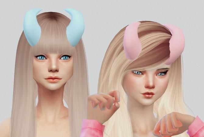 Sims 4 Horns v2. part 1 at Kalewa a