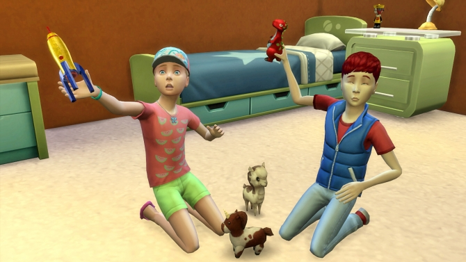 Deco Objects As Playable Toys By K9db At Mod The Sims