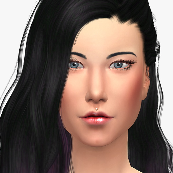 Upper lip piercing at 19 Sims 4 Blog image 3612 Sims 4 Updates