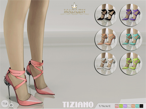 Madlen Tiziano Shoes by MJ95 at TSR image 37 Sims 4 Updates