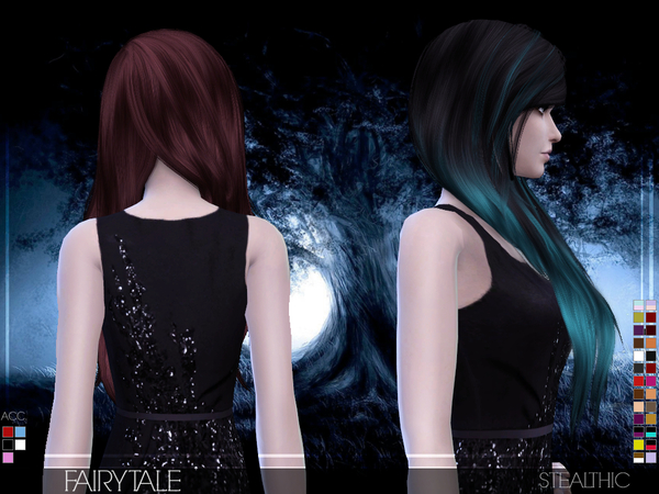 Fairytale Female Hair by Stealthic at TSR image 380 Sims 4 Updates
