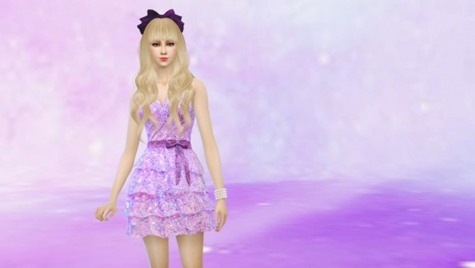 Romantic Frilly Dress Glittery by Czarina27 at Mod The Sims image 381 670x378 Sims 4 Updates