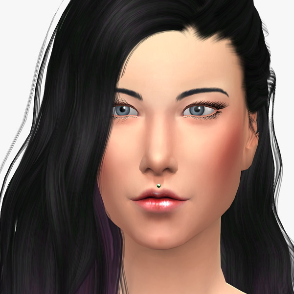 Upper lip piercing at 19 Sims 4 Blog image 3811 Sims 4 Updates