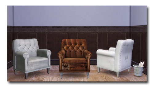 Sims 4 AnYe's Armchair at Msteaqueen