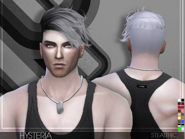 Hysteria Male Hair by Stealthic at TSR image 40 Sims 4 Updates