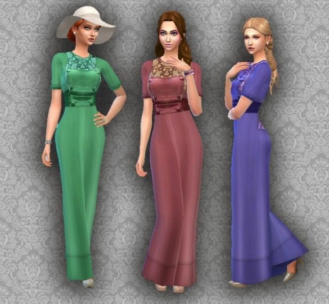 Sims 4 Edwardian Fashion 03 Conversion at My Stuff