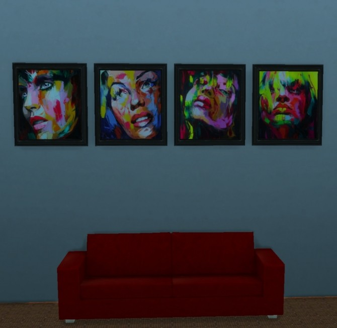 Hey Gorgeous paintings by mojo007 at Mod The Sims image 4212 670x651 Sims 4 Updates