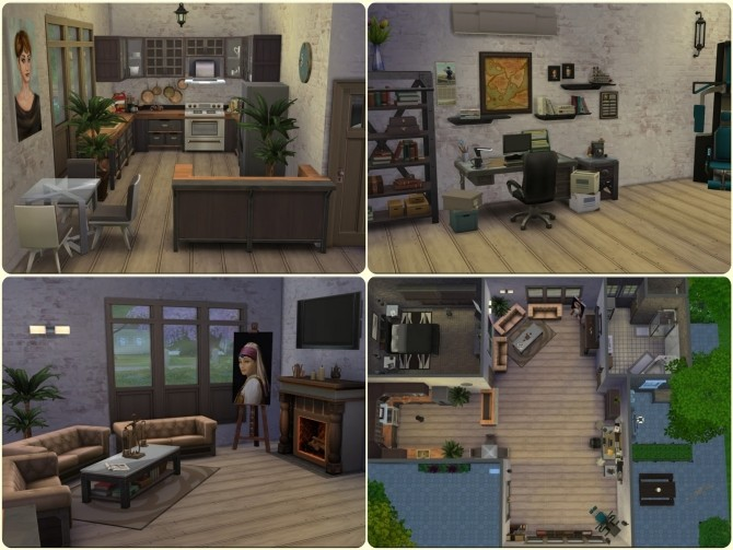 Home For Him by Moni at ARDA image 4220 670x503 Sims 4 Updates