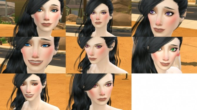 Sims 4 Fusion Eyes by adil338 at Mod The Sims