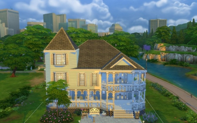 Mildly Victorian house by silverwolf 6677 at Mod The Sims image 4311 670x419 Sims 4 Updates