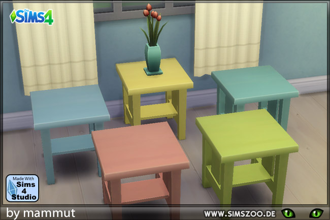 Sims 4 Pastel chairs by Mammut at Blacky's Sims Zoo
