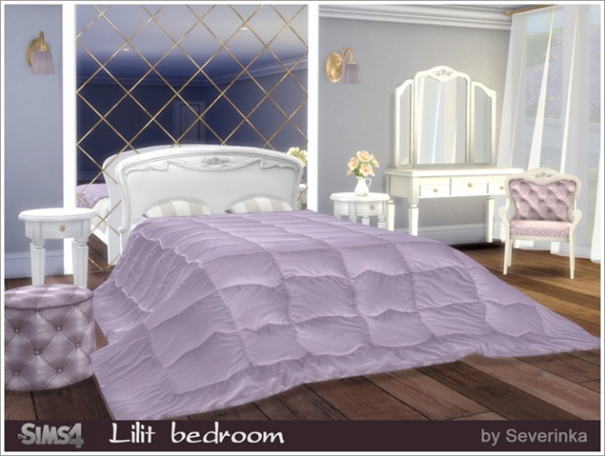 Lilit Bedroom At Sims By Severinka 187 Sims 4 Updates