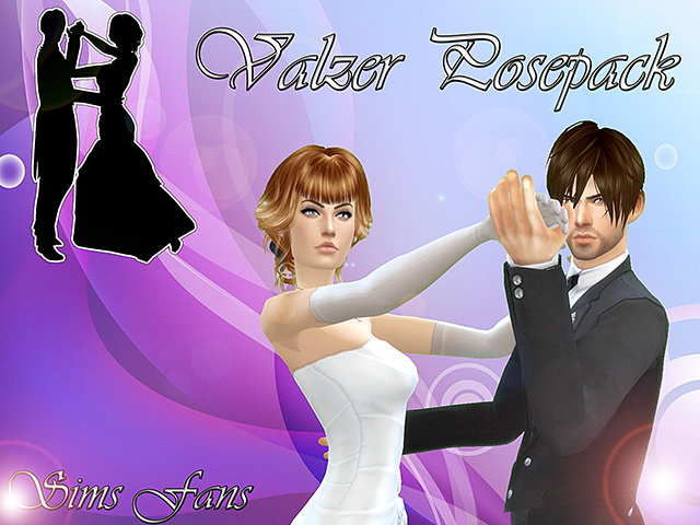 Sims 4 Valzer Posepack by Sim4fun at Sims Fans