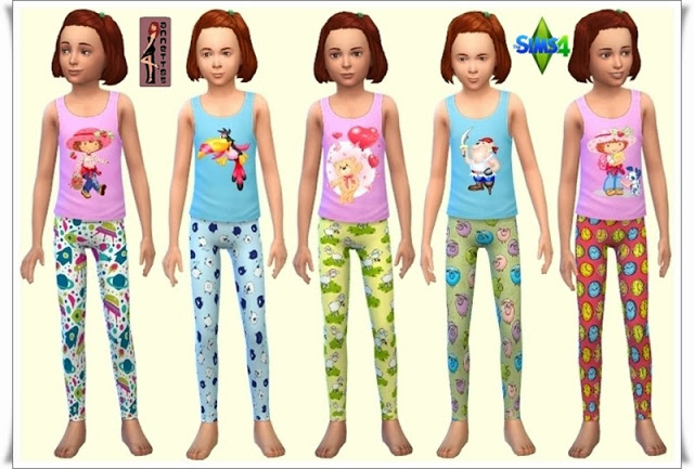 Sleepwear for Kids at Annett's Sims 4 Welt image 4512 Sims 4 Updates