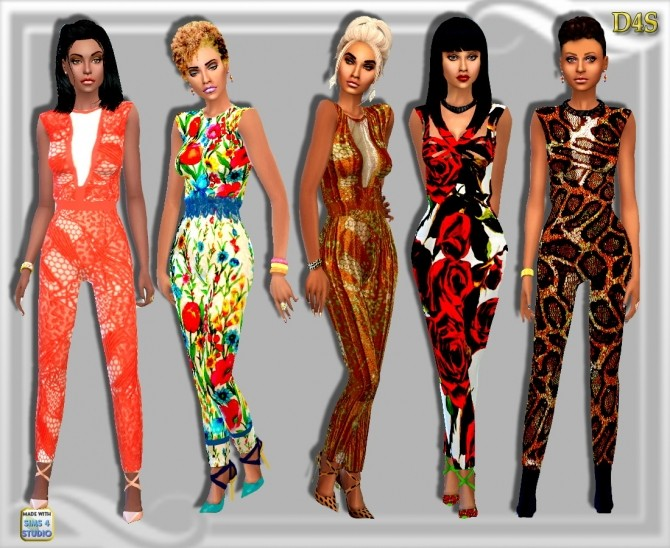 LaLook Jumpsuits at Dreaming 4 Sims image 4515 670x548 Sims 4 Updates