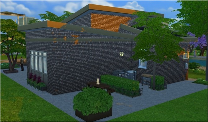 Sims 4 Home For Him by Moni at ARDA